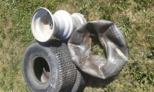 20-8-8 lawn tires and rims