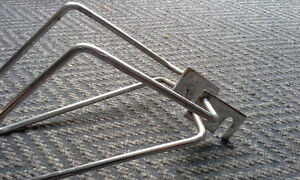 Brackets for throwover saddlebags