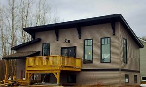OPEN HOUSE-New modern 2bdrm & large garage large lot in Dieppe