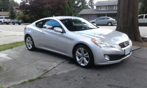 2012 Hyundai Genesis Coupe still under warranty.