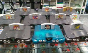 Mario Kart 64, Mario Party 3, Paper Mario, Smash Bros.$35 ch,