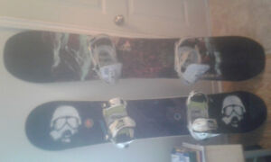 Need gone Two  snowboards for 125 for bo or trade. With bindings