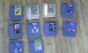 Lot de Jeux NES