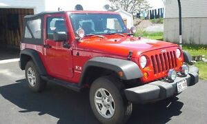 2008 Jeep Wrangler Convertible