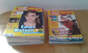 49 Magazines, revues en anglais, jeunesse « I love english »