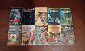 Hardy Boys books from 1931-61