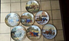 Danbury mint Ford tractor plates