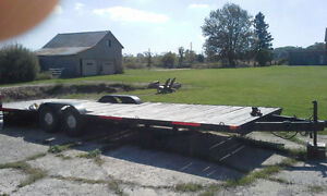 26 ft flat bed, Atv, snowmobile, utility