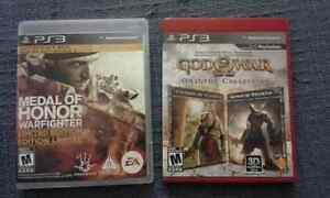 Medal of Honor and God of war