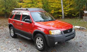 2002 Ford Escape XLT 4X4 VUS