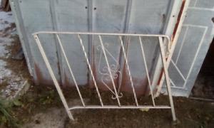 Steel railing for front or back stairs call 519-784-3737