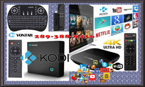 FAST Android Smart TV Media Boxes Brand New Configured