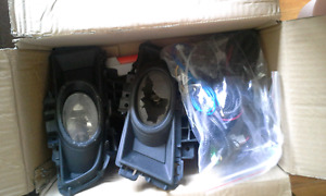 Mazda 3 fog lights and wireing kit.