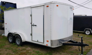 2018 Enclosed Trailer 7x14 Tandem Axle (NEW)