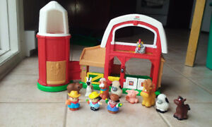 Ferme Little People *extra animaux et personnages