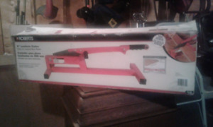 "8"" laminate cutter. Never used. Still in box"