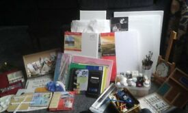 Artists materials / Job lot