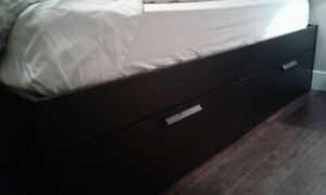 Bed Frame w/ storage
