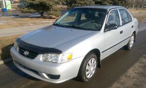 2002 Toyota Corolla Sedan with >$1K extras - REDUCED!