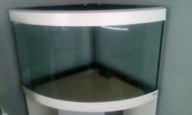 Fish tank 190L corner