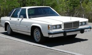 first year for MERCURY GRAND MARQUIS 1983 exceptional condition