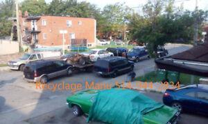 achat d'auto/camion pour ferraille$$$we buy cars/truck for scrap