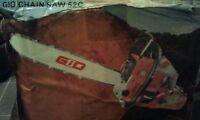 Gio chainsaw 52c