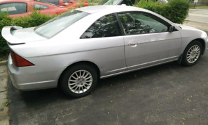 2002 HONDA CIVIC COUPE IN GOOD CONDITION