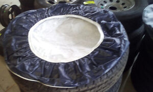 BRAND NEW NAVY AND BLACK TIRE COVERS London Ontario image 3