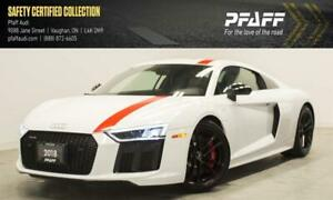 2018 Audi R8 5.2 V10 Rear Wheel Drive 7sp S tronic Cpe