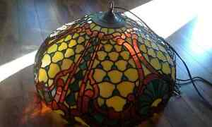 Gorgeous Tiffany stained glass chandelier