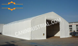40x80x21 Portable Fabric Storage Building Tent - FALL SALE ON