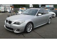 2006/06 BMW 525D M SPORT 2 FORMER KEEPERS 1 YEAR MOT FULL SERVICE HISTORY