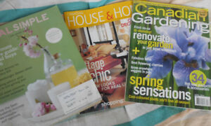 Free decorating and gardening magazines