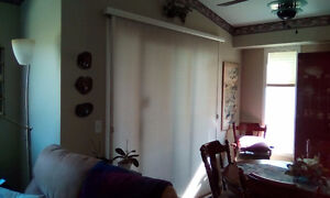 VERTICAL ABBY BLINDS - LIKE NEW