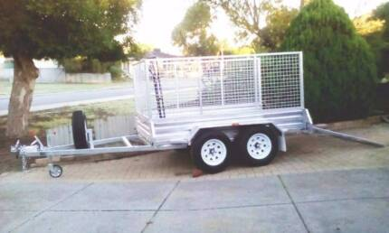 GOOD, CHEAP, 8 x 5 TRAILER HIRE WITH RAMP