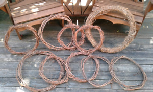 Grapevine Wreaths Various Sizes