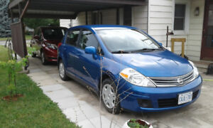 NISSAN VERSA 2012  VERY LOW MILEAGE