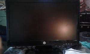 Hp computer monitor 20inch 2011x