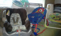 ***Infant*** Car Seat, Jolly Jumper Play Station, 2 & more