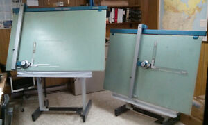 Two Drafting Tables For Sale