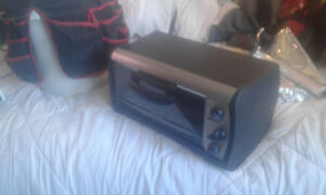 Black and decker 1550 w toaster oven