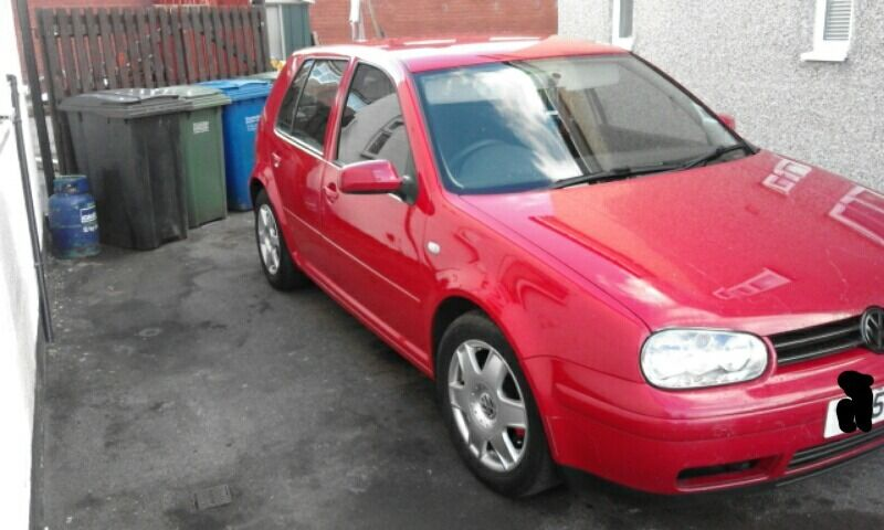 vw golf 1.9 tdi £500