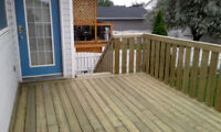 We Can Help ~ Spring Projects ~ Book Today ~ 403-394-5760