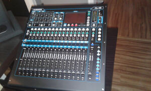 Allen and Heath Qu16 rackable digital mixer