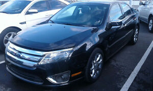 2011 Ford Fusion SEL Nav+Leather+Roof+AcdntFree! ONLY $77/Pmts!!