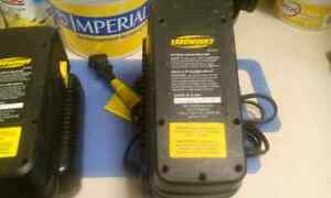 24 volt yardworks batteries and chargers