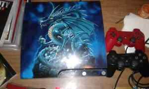 160GB PS3 Dragon Skin Bundle For Sale.