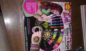 Colour and style hair and bracelets brand new
