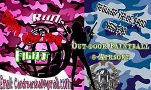 Outdoor Paintball and Airsoft packages on sale